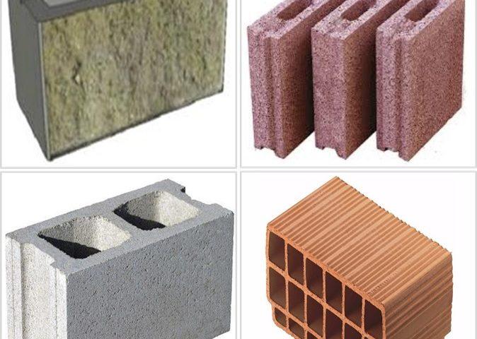 معرفی انواع بلوک ساختمانی